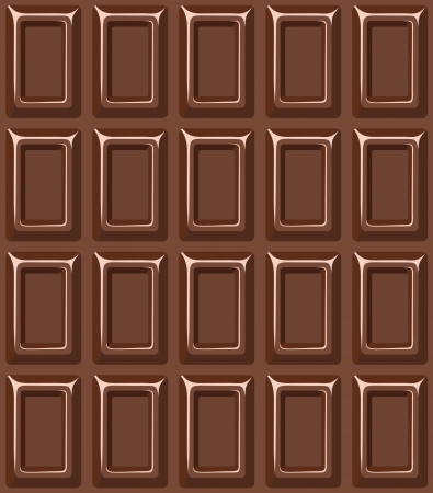 barra de chocolate: Textura transparente con barra de chocolate Vectores