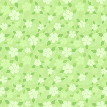 Seamless pattern with small flowers.  Vector