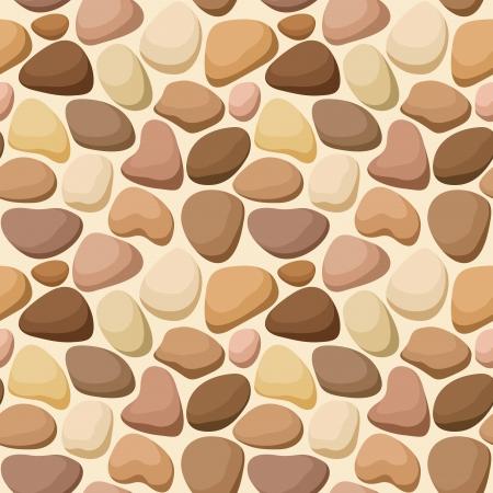 Seamless texture avec des pierres Vecteurs