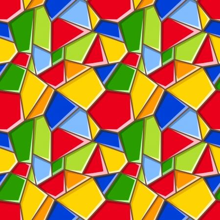 vetrate artistiche: Vetrate. Vector background senza soluzione.