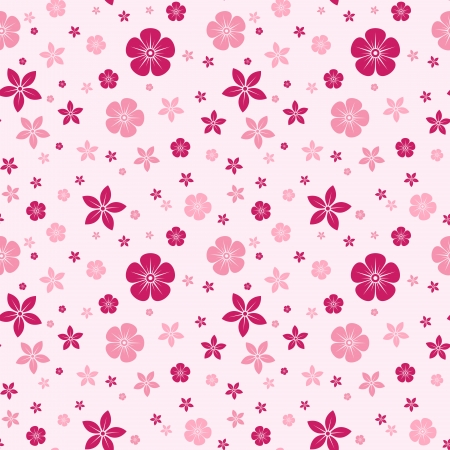 bedclothes: Vector seamless pattern with flowers.