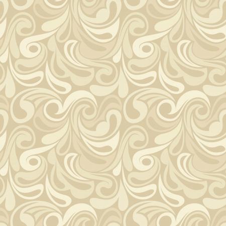 抽象的なベージュのシームレスなパターン。 イラストを描く。  イラスト・ベクター素材