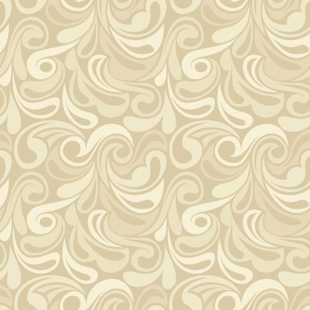 Abstract beige seamless pattern.  illustraion.