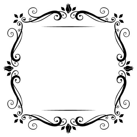 vintage frame vector: Vintage frame  Vector illustration