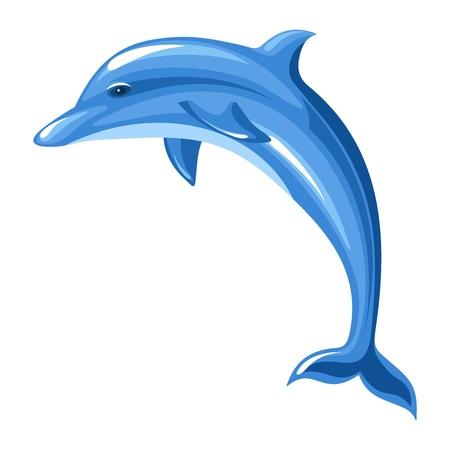 delfin: Wektor ilustracja Dolphin