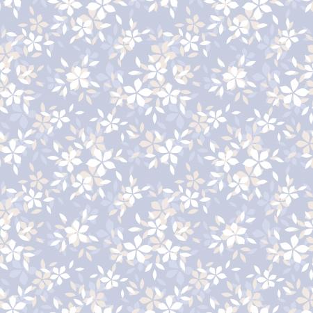 Naadloos patroon met bloemen Vector illustratie Stock Illustratie