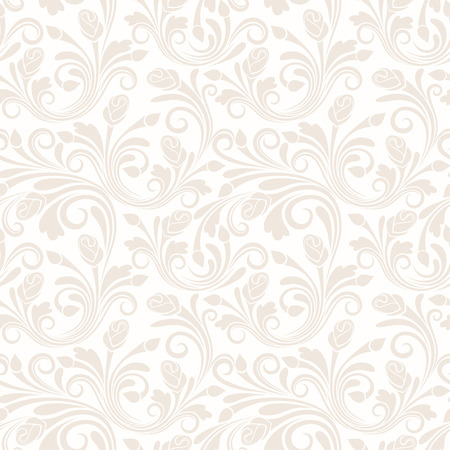 Floral seamless pattern  Vector illustration  Vector