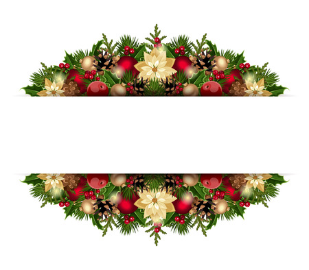 Christmas background  Vector eps-10  Vector