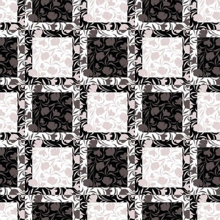 Floral seamless pattern  Vector illustration  Vector