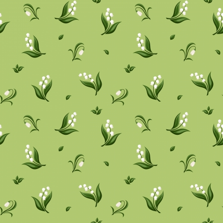 Seamless pattern with spring flowers  Vector illustration  Vector