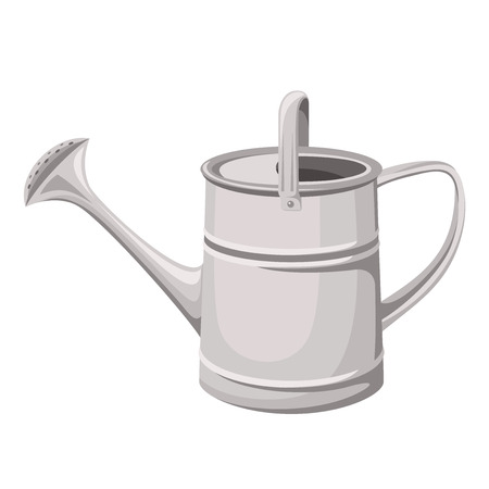 Watering can  Vector illustration  Illustration