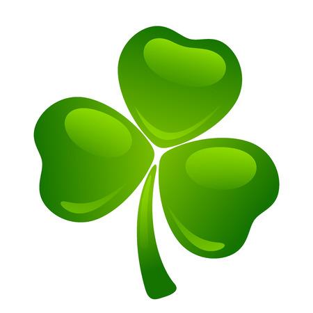 cloverleaf: Green shamrock