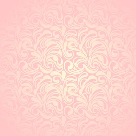 ivory: Abstract pink seamless pattern  Vector illustration