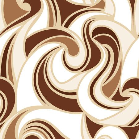 抽象的なシームレスなカラフルなパターン ベクトル図