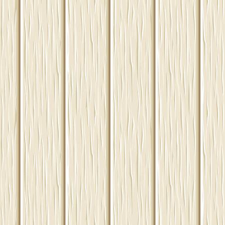 arboreal: Seamless beige wooden planks texture. Vector illustration.