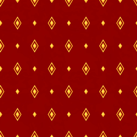 rhombus: Classical seamless pattern with rhombus. Vector illustration. Illustration