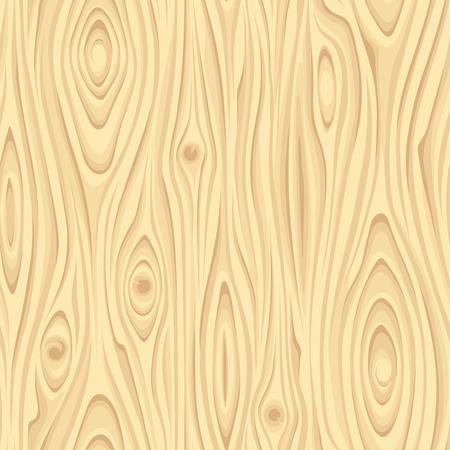 Seamless beige wooden texture. Vector illustration.