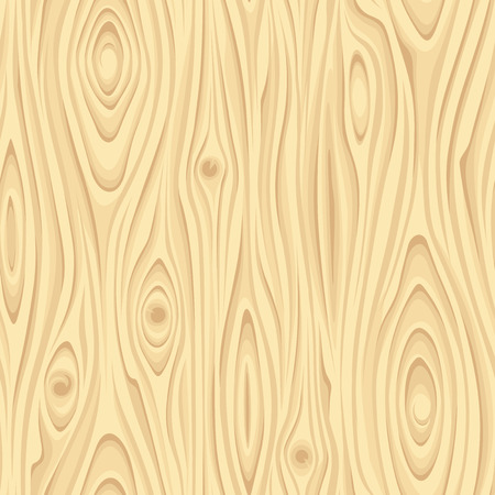 Seamless beige wooden texture. Vector illustration.