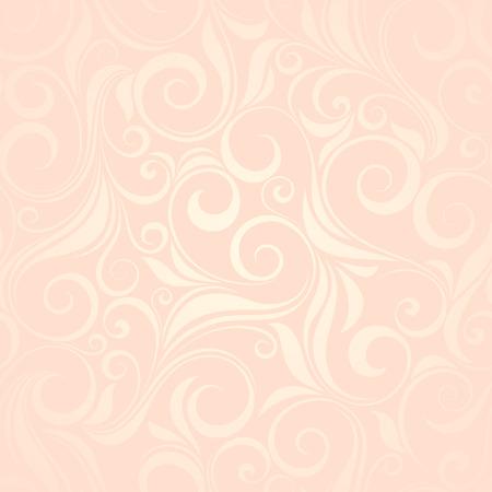 pink floral: Vector vintage pink seamless floral pattern. Illustration
