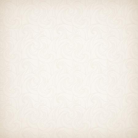 Vector beige seamless pattern. Stock Illustratie