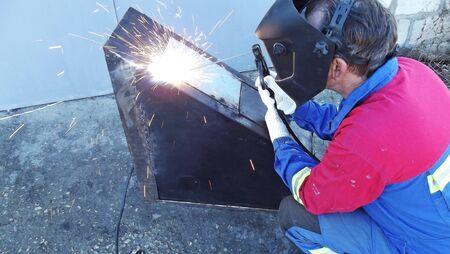 Working work welding.