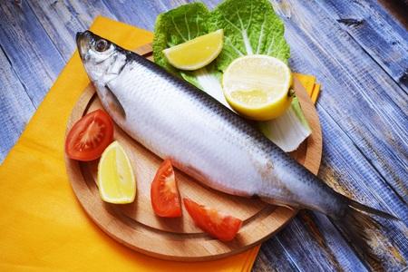 Delicious herring leaves.