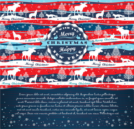 merry chrismas: Merry Chrismas background with Typography.