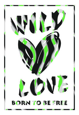 chik: Vector illustration with the slogan for t-shirts, posters, card and other uses Illustration