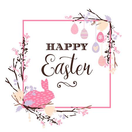 happy: Happy Easter. Vector design