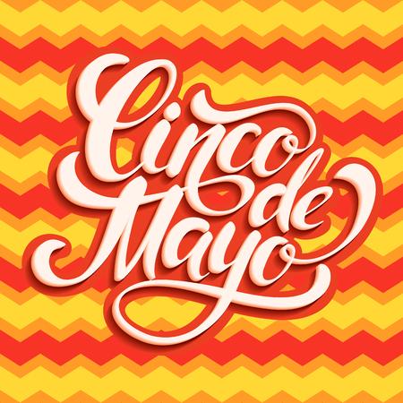 Cinco de Mayo lettering design.