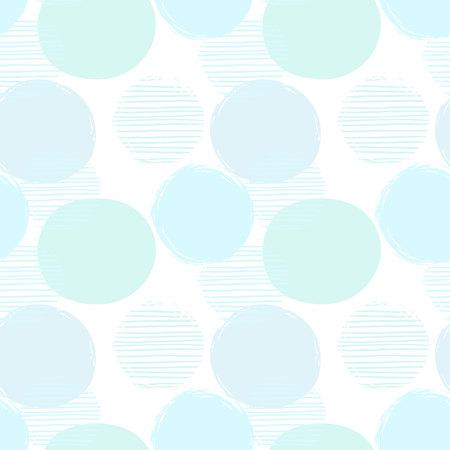 Patrón transparente geométrica abstracto con círculos Foto de archivo - 85472841