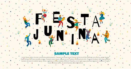 Festa Junina. Vector templates