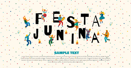 Festa Junina. Vector templates