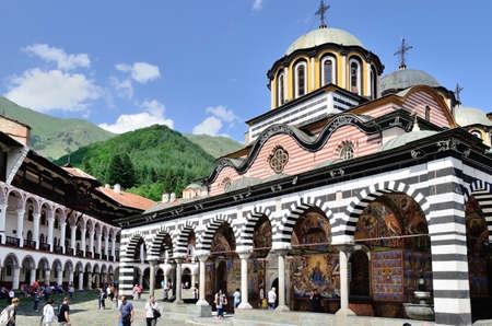 bulgaria: Rila monastery in Bulgaria.