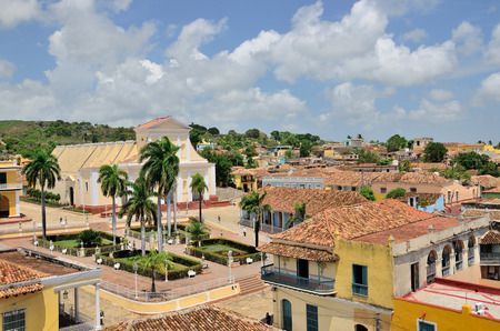 View of the town roofs. Trinidad, Cuba. photo