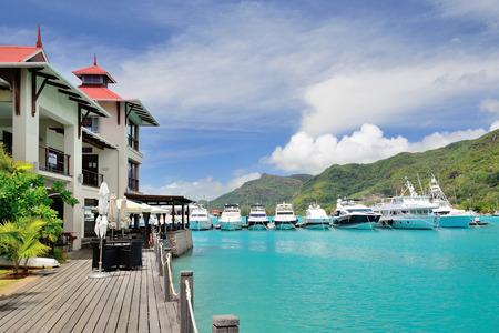eden: Luxury residency and marina at Eden Island, Seychelles.
