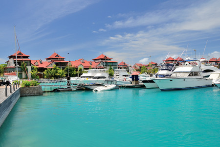 residency: Luxury residency and marina at Eden Island, Seychelles.