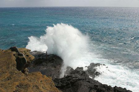 high wave Stok Fotoğraf