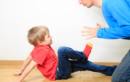 father and son conflict, problems in family