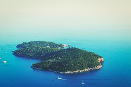 ロクルム島、クロアチア