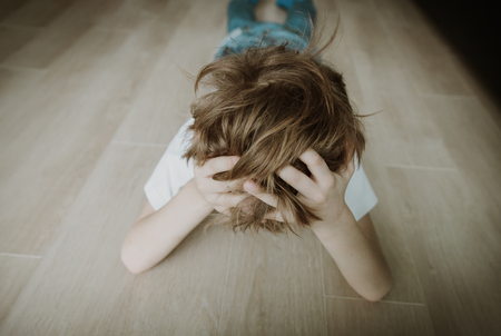 sad child, stress and depression