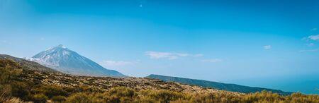Panorama of the volcano Teide. Tenerife, Canary islands, Spain
