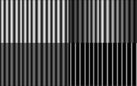iron bars: Texture consisting of a metal tube. Four different iron bars.