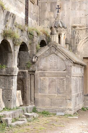 tatev: Armenian Apostolic Church. Mountain landscape, the monastery. The landscape in Armenia Tatev.