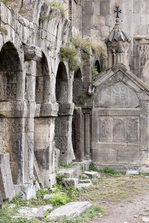 apostolic: Armenian Apostolic Church. Mountain landscape, the monastery. The landscape in Armenia Tatev.