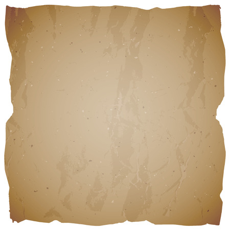 Vector vintage background with torn edges. Texture of old paper.