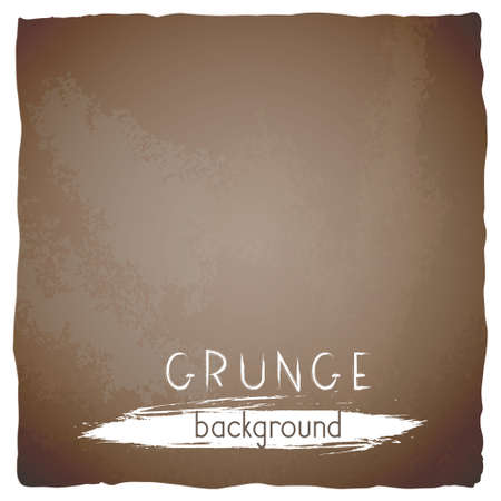 Vector vintage background with torn edges. Grunge texture of old paper.