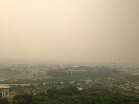 haze: Terrible haze