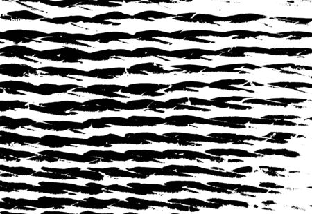 Rough black and white texture vector. Distressed overlay texture. Grunge background. Abstract textured effect. Vector Illustration. Black isolated on white background.