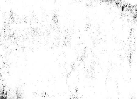 Rough black and white texture vector. Distressed overlay texture. Grunge background. Abstract textured effect. Vector Illustration. Black isolated on white background. EPS10